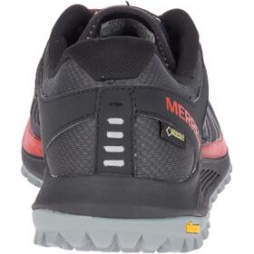 Merrell Nova GTX - Zapatillas running Hombre - rojo/negro